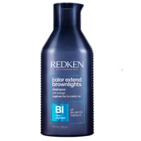 Redken Color Extend Brownlights Shampoo - Нейтрализующий шампунь для тёмных волос 300 мл