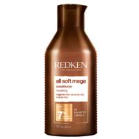Redken All Soft Mega Conditioner - Кондиционер для очищения, питания и смягчения очень сухих и ломких волос 300 мл