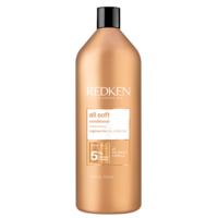 Redken All Soft Conditioner -  Кондиционер с аргановым маслом для сухих и ломких для питания и смягчения волос 1000 мл