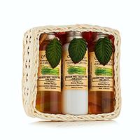 Organic Tai Kit - Набор (натуральный шампунь для волос «лемонграсс» 120 мл,натуральный бальзам-кондиционер «лемонграсс» 120 мл,натуральный гель для душа «лемонграсс» 120 мл)