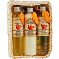Organic Tai Kit - Набор (натуральный шампунь для волос «мандарин» 260 мл,натуральный бальзам-кондиционер «мандарин» 260 мл,натуральный гель для душа «мандарин» 260 мл)