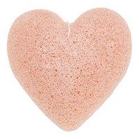 Beauty Bar Konjac Sponge - Воздушный спонж конняку для лица (с розовой глиной)