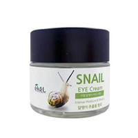 Ekel Snail Eye Cream - Крем для глаз регенерирующий с муцином улитки 70 мл
