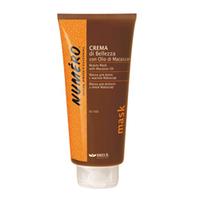 Brelil Numero Beauty Mask With Macassar Oil - Маска для красоты волос с макассаровым маслом и кератином 300ml