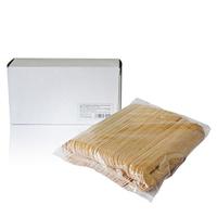 Cristaline Шпатели деревянные для эпиляции 15,24 см 100 шт