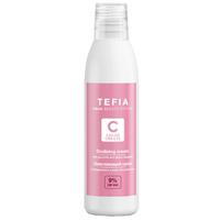 Tefia Color Creats Oxidizing Cream - Окисляющий крем с глицерином и альфа-бисабололом 9% 120 мл