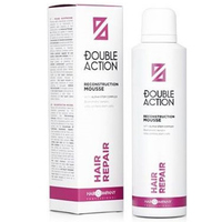 Hair Company Double Action Reconstruction Mousse - Восстанавливающий мусс 200 мл