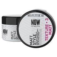 Selective Professional Now Next Generation Matt Style - Реструктурирующий воск мягкой фиксации с матовым эффектом 100 мл