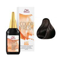 Wella Color Fresh - Оттеночная краска для волос 4/07 коричневый натуральный коричневый 75 мл