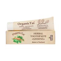 Organic Tai Toothpaste - Зубная паста с натуральными травами «женьшень» 100 г