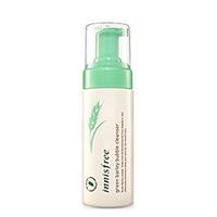 Innisfree Green Barley Bubble Cleanser - Пенка для умывания пузырьковая 150 мл