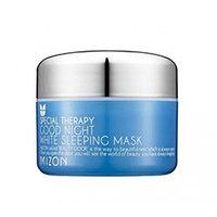 Mizon Good Night White Sleeping Mask - Маска ночная осветляющая с лавандой 80 мл