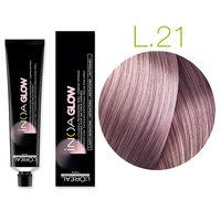 L'Oreal Professionnel Inoa Glow Light Base - Kрем краска для волос (светлая база) 21 пепел розы 60 мл