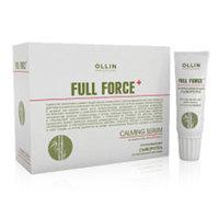 Ollin Full Force Soothing Serum With Aloe Bamboo - Успокаивающая сыворотка для чувствительной кожи головы с экстрактом бамбука 10*15 мл