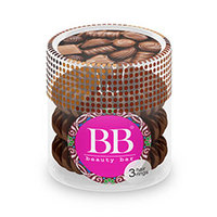 Beauty Bar - Резинка для волос (коричневый) 3 шт