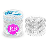 Beauty Bar - Резинка для волос (прозрачный) 3 шт