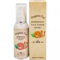 Organic Tai Face Toner - Освежающий тоник для лица «с экстрактом улитки» 60 мл