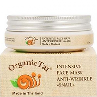 Organic Tai Face Mask - Маска для лица против морщин «с экстрактом улитки» 50 мл