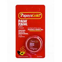Papaya Gold - Бальзам для губ с медом манука 7 г
