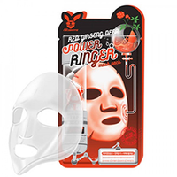 Elizavecca Deep Power Ringer Mask Pack Red Ginseng - Маска для лица тканевая 23 мл