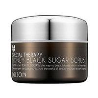 Mizon Honey Black Sugar Scrub - Скраб для лица с черным барбадосским сахаром 80 г