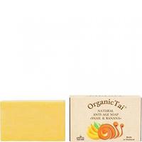 Organic Tai Soap - Натуральное антивозрастное мыло «с экстрактом улитки и банан» 100 г