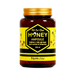 Farmstay All-In-One Honey Ampoule - Сыворотка для лица многофункциональная 250 мл