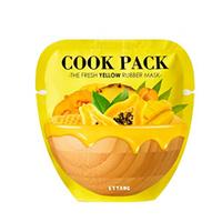 Ettang Cook Pack The Fresh Yellow Rubber Mask - Маска для лица питательная 25 мл