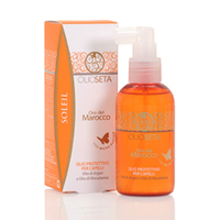 Barex Olioseta Oro Del Morocco Sun Soleil Protective Hair Oil – Защитное масло для волос с маслом арганы и маслом макадамии 150 мл