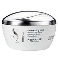 Alfaparf Semi Di Lino Diamond Illuminating Mask - Маска для нормальных волос придающая блеск 200 мл