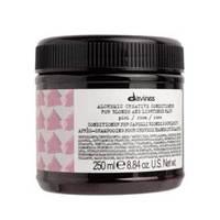 Davines Alchemic Creative Conditioner For Blond And Lightened Hair Pink - Креативный кондиционер для осветленных и натуральных блондов оттенок (розовый) 250 мл