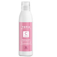 Tefia Color Creats Oxidizing Cream - Окисляющий крем с глицерином и альфа-бисабололом 3% 120 мл