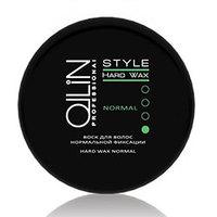 Ollin Style Hard Wax Normal - Воск для волос нормальной фиксации 50г (75мл)