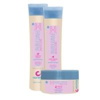Honma Tokyo H-Brush Special Care - Набор для продления гладкости волос (шампунь 300 мл, кондиционер 300 мл, маска 300 мл)