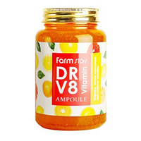 Farmstay Dr-V8 Vitamin Ampoule - Сыворотка для лица ампульная витаминная 250 мл