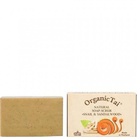 Organic Tai Soap - Натуральное мыло-скраб «с экстрактом улитки и сандаловое дерево» 100 г
