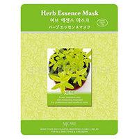 Mijin Cosmetics Essence Mask Herb - Маска тканевая экстракты трав 23 г