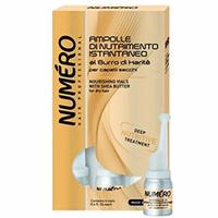 Brelil Numero Shea Butter - Питательное средство с маслом карите для сухих волос в ампулах 6*12 мл