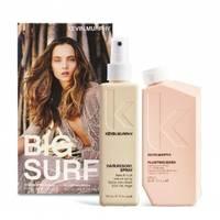 Kevin Murphy Big Surf Set - Набор для волос (шампунь для объема и уплотнения волос 250 мл, текстурирующий спрей 150 мл)