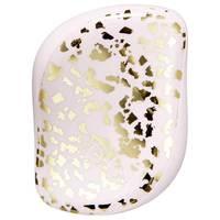 Tangle Teezer Compact Styler Gold Leaf - Расческа для волос (золотой/белый)
