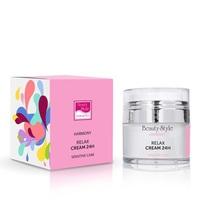 Beauty Style Harmony Relax Cream 24H - Крем релакс 24 для чувствительной кожи с гиалуроновой кислотой 30 мл