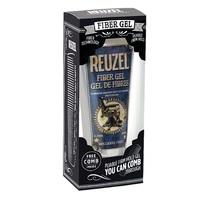 Reuzel Fiber Gel - Набор для волос (гель для укладки волос 100 мл + расческа)