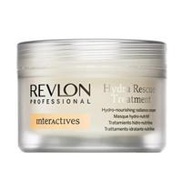 Revlon Professional Interactives Hydra Rescue Treatment - Крем для блеска волос увлажняющий и питающий 200 мл