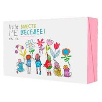 Estel Рrofessional Little Me Set - Коллекция для девочек (шампунь, гель для душа, пенка для умывания, зубная паста, бальзам для губ) 750 мл