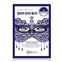 Mediheal Mask Dress Code Blue - Маска тканевая для лица 27 мл