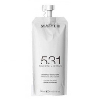 Selective 531 Shampoo-Maschera Brown - Шампунь-маска для возобновления цвета волос (коричневый) 30 мл