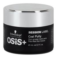 Schwarzkopf Osis+ Session Label Coal Putty - Матирующая глина 65 мл