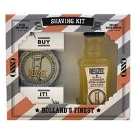 """Reuzel """"Shaving Kit"""" - Подарочный набор для бритья (крем для бритья 28,5 г, лосьон после бритья 100 мл)"""