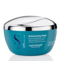 Alfaparf Semi Di Lino Curls Enhancing Mask - Маска для кудрявых и вьющихся волос 200 мл