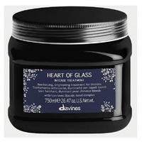 Davines Heart Of Glass Intense Treatment - Интенсивный уход для защиты и сияния блонд 750 мл